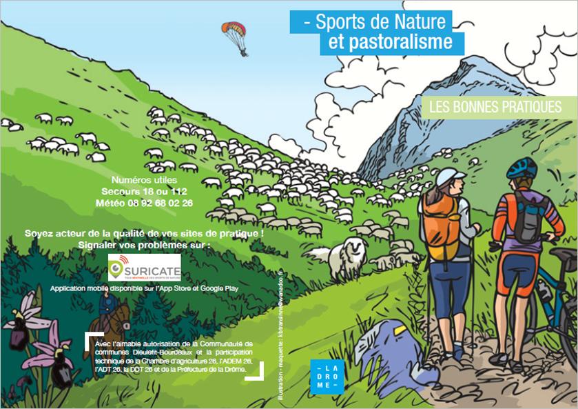 Plaquette sport de nature & pastoralisme